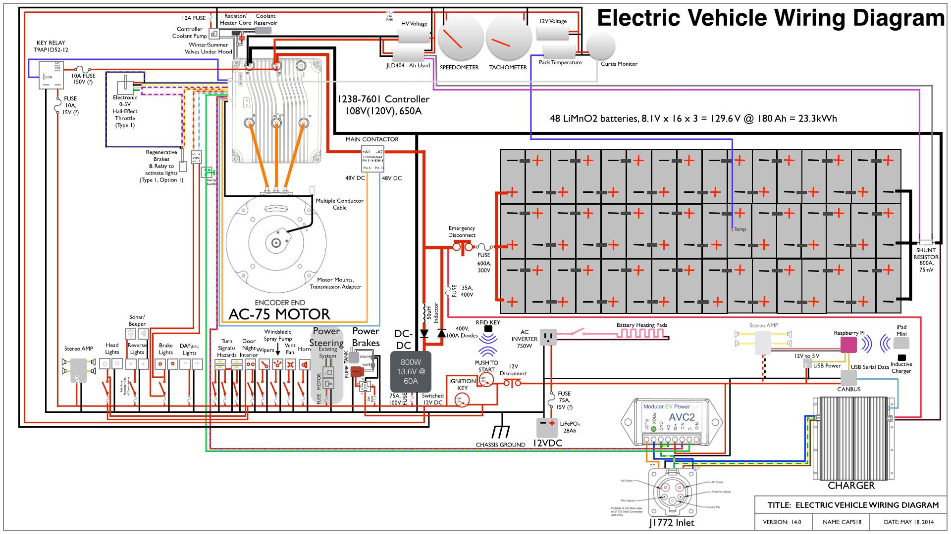 Electric Wire Diagram For Ev   Diagram Design Sources device tight ...