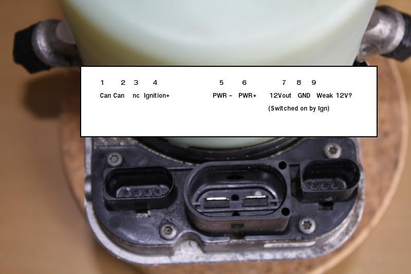 VW servo pump pinout | DIY Electric Car ForumsDIY Electric Car Forums
